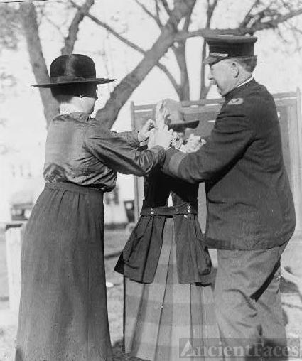Training a policewoman