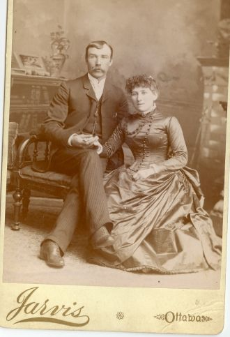 Alexander W. McCaughan and Mary Susanna Hayes