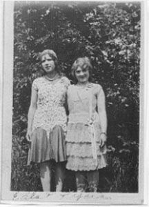 Two young girls