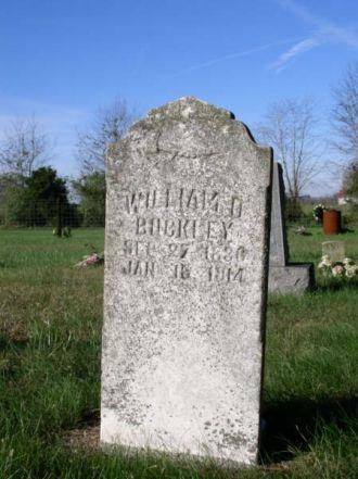 Buckley, William D.-Tombstone