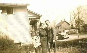 Leon Hill and Mother