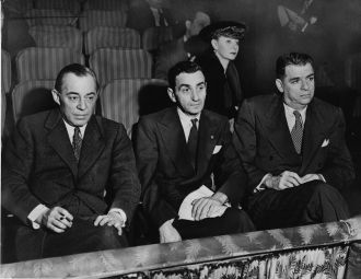 Richard Rodgers, Irving Berlin and Oscar Hammerstein II