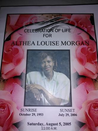 Althea L Morgan