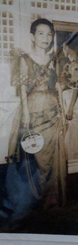 Josefa in her Terna
