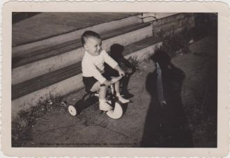 Elvin Charles Tuttle at 2 years old
