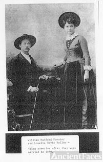 William & Louella (Holley) Poynter, 1889