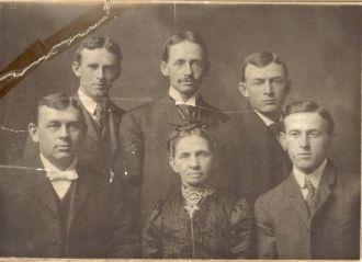Celia Siebert and sons