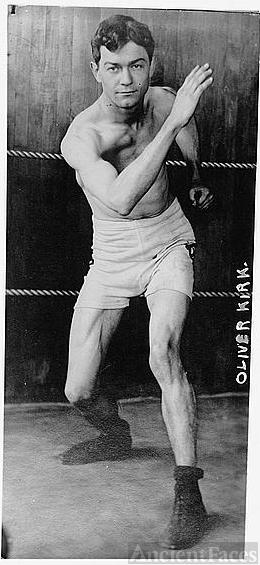 Oliver Kirk, American boxer