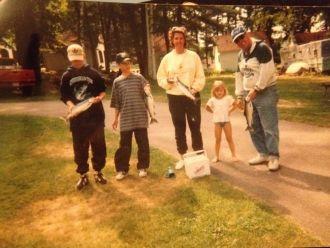 Flinkstrom Family, NH, 1996