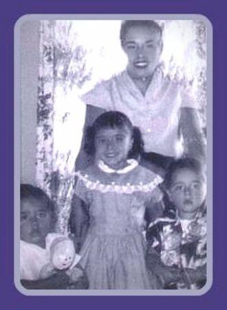 Virginia Espinoza and Children, California