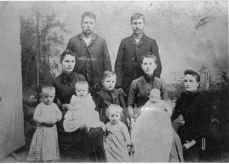 Garrett Sisters, husbands and children
