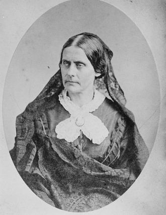 Susan B. Anthony, mid 1800's