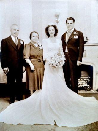 Albert and Grace (Arena) Ciaccia Wedding