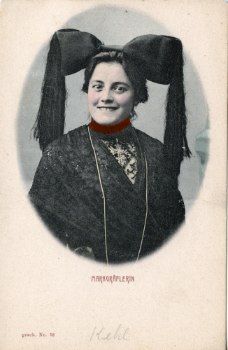 Markgräflerin (Woman from Markgräflerland, Germany)