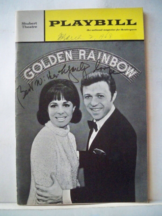 GOLDEN RAINBOW Playbill.