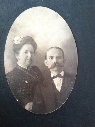 Martha (Tate) and Charles A. Mitchell, Tennessee