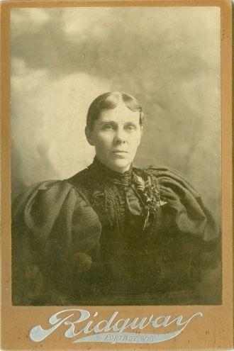 Louisa (Ryder) Powers Evans, Wisconsin