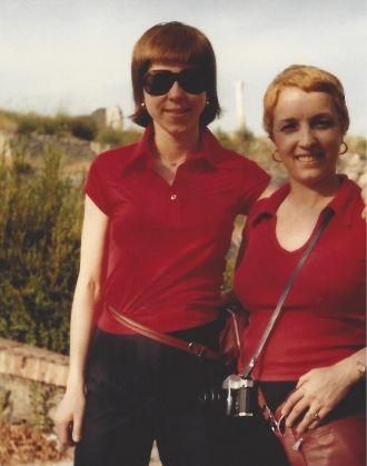 Naomi H (Kulbokas) Thomas & Amanda Stevenson