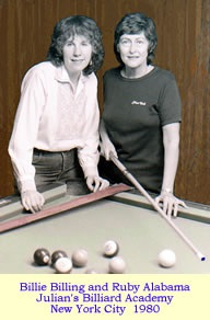 Mary Kathryn Hurt and Billie Billing.