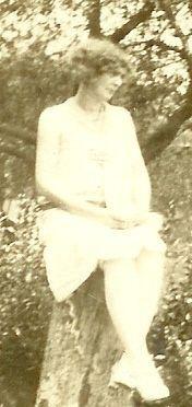 Della Ann {Burnett} young woman -no background