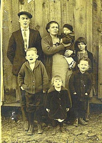 George Mashburn and Family