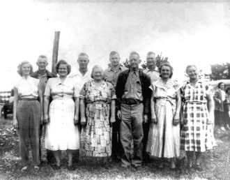 John Brown Parrish Family Florida