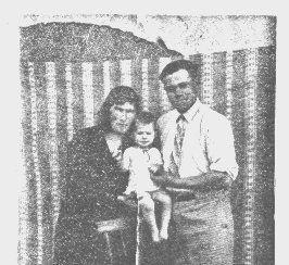 Julius, Dana, & Anna Benko Bulgaria 1935