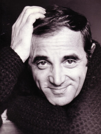 A photo of Charles Aznavour