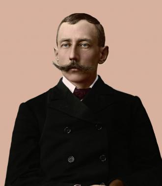 A photo of Roald  Engelbregt Gravning Amundsen