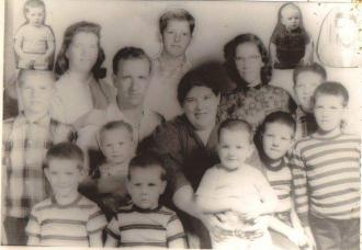 O.B. Stamper Family Photo