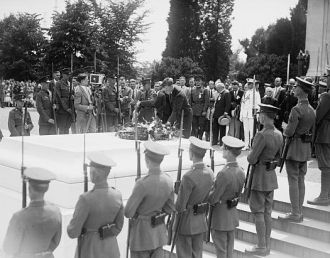 Lindbergh (Tomb of Unknown), 6/12/27