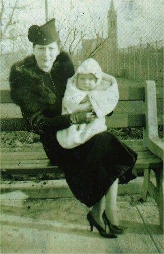 Ethel Martin Holding Baby