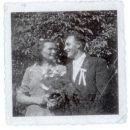 My grandparents Bartos, wedding photo