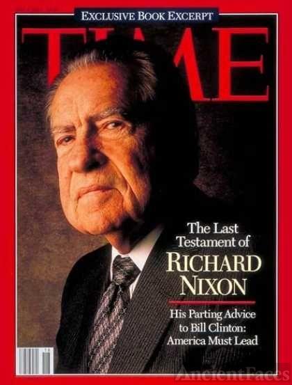 Richard Nixon, Time Magazine, 1994