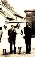 James & Eva Hazelton, Catherine, & Alfred Mudgett, VT