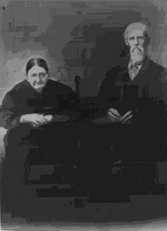 Amos Hill Hamrick and Eunice Jane McSwain