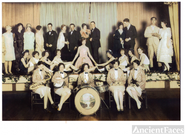 1920's YWCA benefit stage show