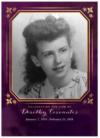 Dorothy (Deitsch) Cervantes