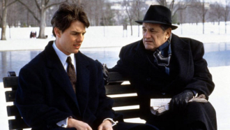 Tom Cruise and Steven Hill.