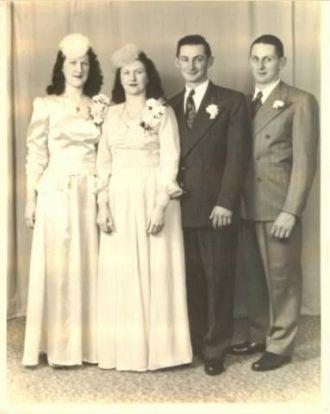 Galgoczi Wedding, 1946