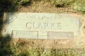 George C. Clarke's grave