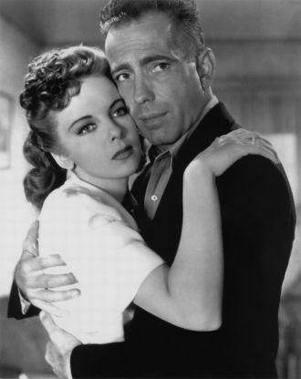 Ida Lupino and Humphrey Bogart