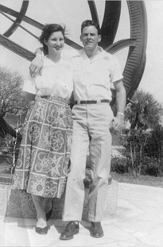 Vance Dunn and Helen Seeley