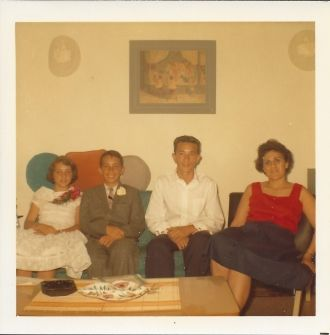 John Svendsen and Grace, Stewart and Sandy