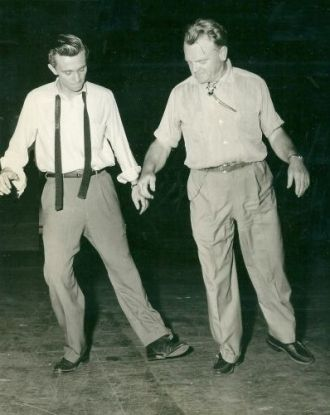 Robert Ivers and James Cagney