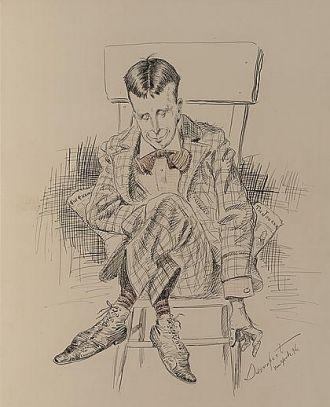 William Randolph Hearst, satirical drawing