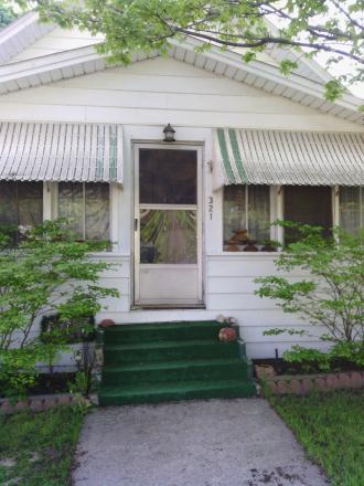 His house in Sheridan Michigan