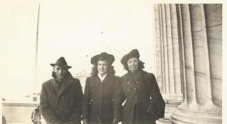 Wayne Guthrie, Betty Jane Carr,& Bertha Colglazier