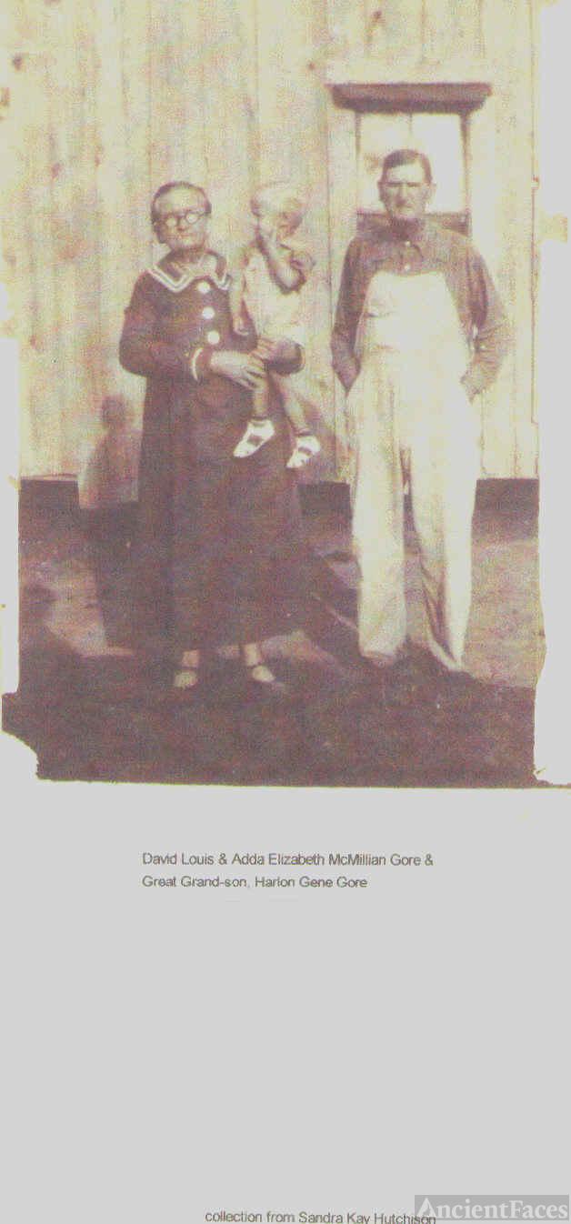 David Louis and Ada Gore with Haron Gene Gore