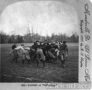 """Football - A """"Scrimmage"""""""